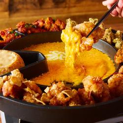【先着5組様限定】当店人気!UFOフォンデュの食べ放題が新登場 チキンは10種類の味から4つ選べます!