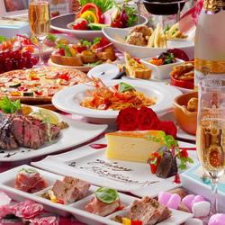 ワンランク上の宴会。肉×チーズを存分にお楽しみいただけます!メインは自慢の肉盛りプレート