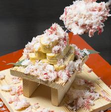 おすすめ超名物『蟹ぶっかけ出汁巻玉子』