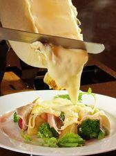 温野菜がさらに旨い『いろいろ温野菜とラクレットチーズがけ』