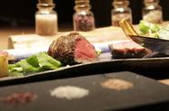 コース料理『ステーキの食べ比べ』