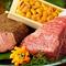 ウニと組み合わせた贅沢な一品『黒毛和牛いちぼステーキ』