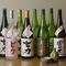 旬の魚介や野菜料理に合う、青森のおいしい地酒をラインナップ
