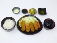 三陸かきフライ定食