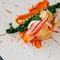 旨みや香り、食感など、溢れる魅力が一皿に集結『オマール海老のロースト 旬野菜 甲殻類のソース』