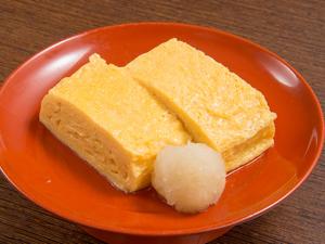 糸島産の生みたて卵と出汁の旨味が絶妙、巻き立てを味わう『出汁巻きたまご』