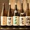 人気の銘柄から知る人ぞ知る銘酒まで、日本酒・焼酎も各種揃う