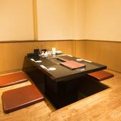 大小さまざまな個室をご用意しております。