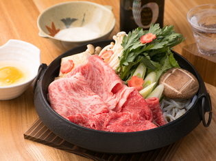 和牛と、それを彩る野菜は鮮度や安心度の高い国産をチョイス