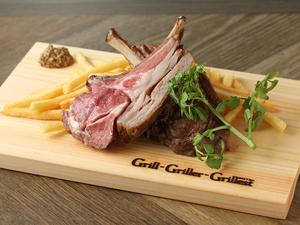 これぞ炭火焼肉ビストロの一品『和縁牛 モモ肉のグリル』