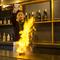 調理の醍醐味と安心感も鉄板焼の魅力。気配りのサービスも徹底