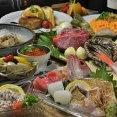 広島の銘酒と呼ばれる、名高い地酒が勢ぞろい