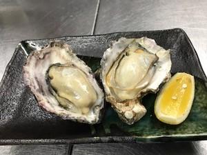 濃厚かつクリーミー『焼き牡蠣(2ヶ)』