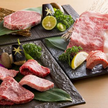 肉割烹コース 安芸