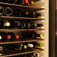 コミュニケーションを通して、お好みのワインをセレクト