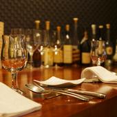 ご夫妻や恋人同士で、10皿のコース料理をゆったり楽しんで