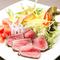 牛肉の和風サラダ