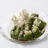 旬の京野菜をカラッと揚げた『京の天婦羅盛り合わせ』