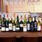 フランス・スペイン・イタリアから、名だたるワインをご用意