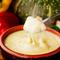 旬の温野菜をチーズに絡めていただく『Gucchi's特製チーズフォンデュ 1~2人前』