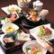 新鮮魚介と旬の食材を存分に味わえる充実のコース