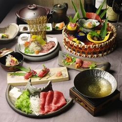 懐石仕立ての和食やステーキで尾崎牛を堪能して頂ける贅沢なコース。 ※別途5%サービス料を頂戴致します