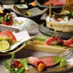 尾崎牛をさまざまな料理で楽しむイチオシプラン。 ※別途5%サービス料を頂戴致します