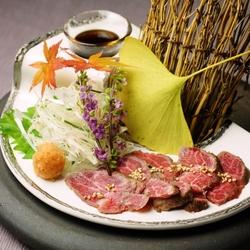 季節の逸品と尾崎牛料理をお得に楽しめるコースです。 ※別途5%のサービス料を頂戴致します