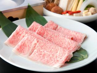 日本が世界に誇る三大和牛、A5ランクのみを使用する「近江牛」