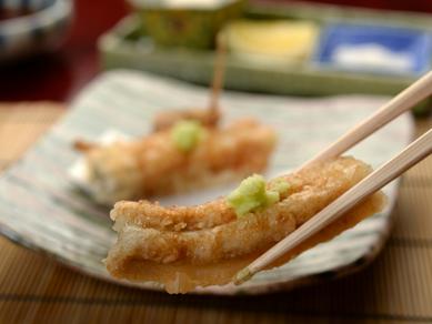 サクッと軽い食感の薄衣でいただく『天ぷら』