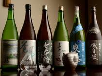 季節ごとに入れ替えられる純米酒