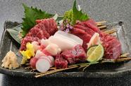 特選!!霜降り馬肉寿司