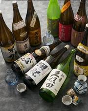 日本酒、焼酎好き必見!獺祭、黒龍、八海山、20種類日本酒と赤兎馬、兼八、不二才、なども飲み放題!