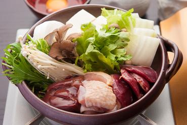 軍鶏鍋(1人前)