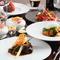 フランス料理に合う新鮮な地元食材を厳選