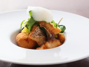 サラダ感覚でバランスよく食べられる一皿『タイのポワレブランダード』