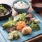 九州産の新鮮野菜を使用