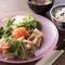 栄養バランスのとれた食事を『マルシェランチ』
