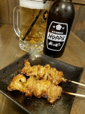 串銀蔵の名物 トロトロ「テッポウ串」