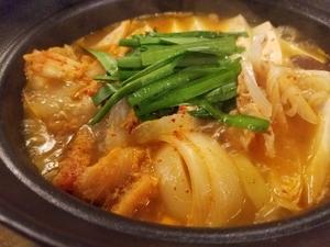 健康キムチチゲ鍋
