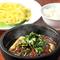 石焼麻婆豆腐つけ麺