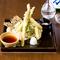 地元栃木の野菜を使った『地野菜の天ぷら』