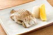四季の味わいを堪能できる『旬の焼き魚』