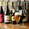 体に優しいナチュラルワインが豊富。クラフトビールもいろいろ