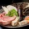 選りすぐりの食材を素晴らしいパフォーマンスと共に堪能できる『料理長おまかせ Aコース』