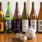 豊富に取り揃えられた、40種類以上のこだわりの日本酒