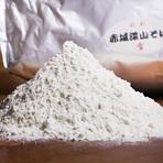 無農薬栽培「深山ファームの蕎麦粉」