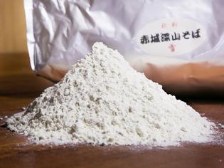 深山ファームの蕎麦粉
