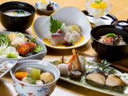 手作り豆富のヘルシーなコース料理『口福御膳』