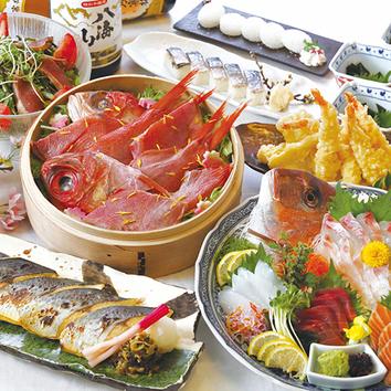 【昼宴会】飲放付海鮮寄せ鍋コース 4,990円⇒3,990円<全7品>